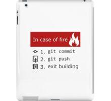 Git on Fire iPad Case/Skin
