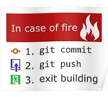 Git on Fire Poster