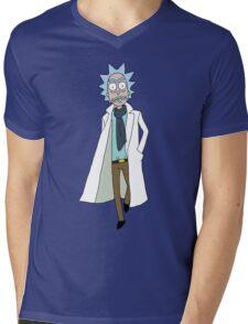 Rick Sanchez  Mens V-Neck T-Shirt