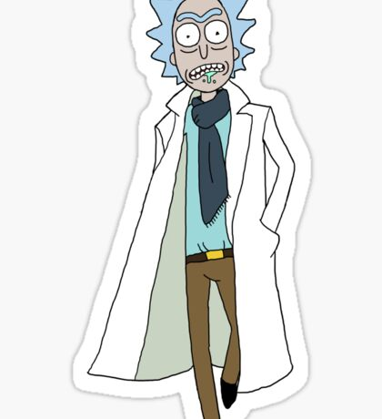 Rick Sanchez  Sticker