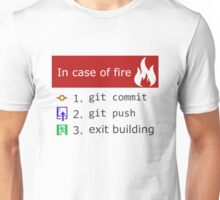 Git on Fire Unisex T-Shirt