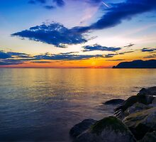 Orme Sunset by Ian Mitchell