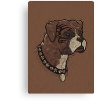 The Boxer Dogs Canvas Print