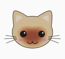 Cute Kawaii Siamese Cat Kids Clothes