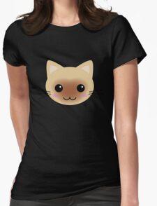 Cute Kawaii Siamese Cat T-Shirt