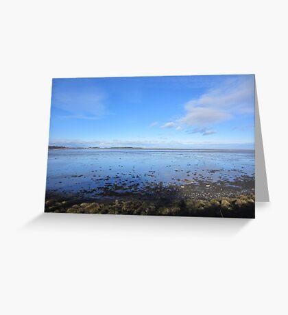 Northumberland Coast View Greeting Card