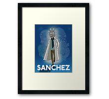 Sanchez Framed Print