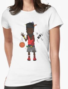 High Top Womens Fitted T-Shirt