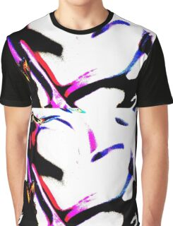 Abstract heart in pink & white Graphic T-Shirt
