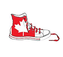Basketball Shoe Canada 2 Photographic Print