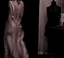 Woman in Dilapidated Evening Gown by Kim-maree Clark