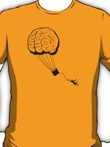 Brain Balloon - black detail T-Shirt