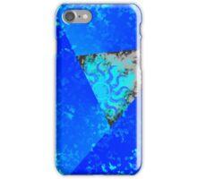Blue Fire Sun iPhone Case/Skin