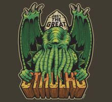 The Great Cthulhu by Azafran