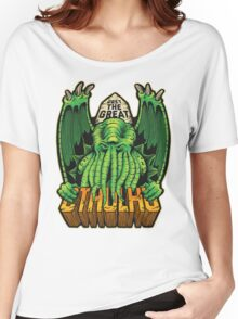 The Great Cthulhu Women's Relaxed Fit T-Shirt