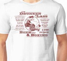 Drunkin Lass - red type Unisex T-Shirt