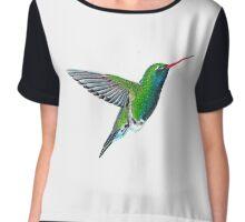 Hummingbird Chiffon Top
