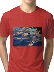 Color Abstraction XXXVII Tri-blend T-Shirt