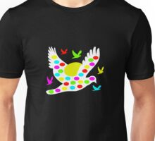 White Easter bird Unisex T-Shirt