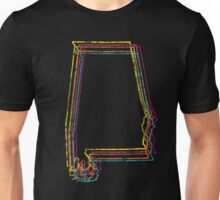 alabama rainbow blur Unisex T-Shirt