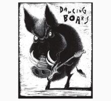 Dancing Boar by dunlapshohl