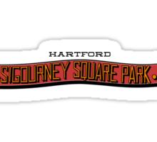 Sigourney Park in Hartford, Connecticut Sticker