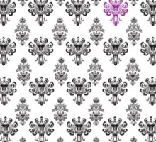 Haunted Mansion Wallpaper by Topher Adam Sticker