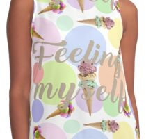 """Feeling Myself""  Contrast Tank"