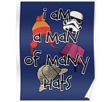 Man of Many Hats Poster