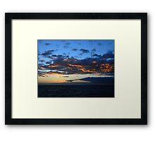 Bayside Sunset Framed Print
