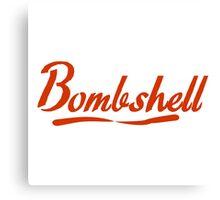 bombshell Canvas Print