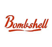 bombshell Photographic Print