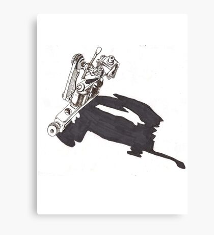 Tattoo Machine Canvas Print