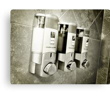 Hotel Shower Canvas Print