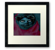 Werewolf Girl Framed Print