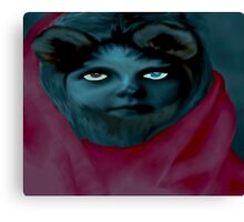 Werewolf Girl Canvas Print