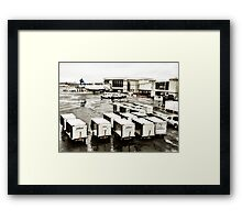 Washington Reagan National Airport Framed Print