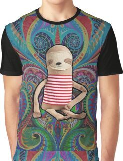 Trippy Sloth no. 1 Graphic T-Shirt