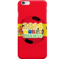 2014 World Champs Ball - Spain iPhone Case/Skin