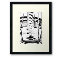 Sail Mast Framed Print
