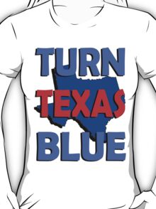 Turn Texas Blue #3 T-Shirt