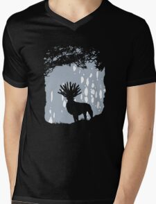 Forest Spirit Mens V-Neck T-Shirt