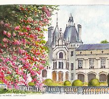 Château de Brézé in the Loire Valley of central France by Dai Wynn