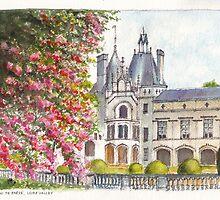 Château de Brézé in the Loire Valley of central France by Dai Wynn