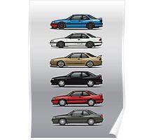 Stack of Mazda MX6s Poster