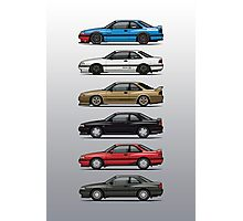 Stack of Mazda MX6s Photographic Print