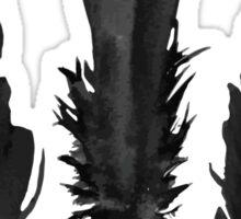 Black Feathers Sticker