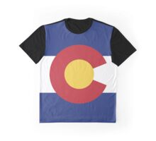 Colorado Flag Graphic T-Shirt