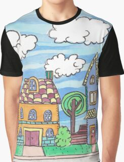 Welcome to the Nieghborhood Graphic T-Shirt
