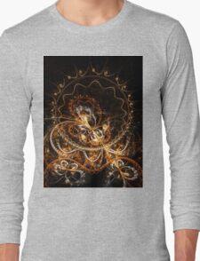 Butterfly - Abstract Fractal Artwork Long Sleeve T-Shirt